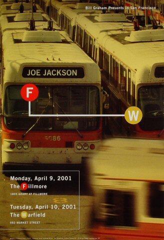 Joe Jackson Poster