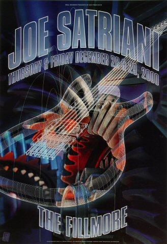 Joe Satriani Poster