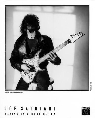 Joe SatrianiPromo Print