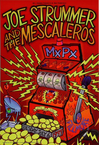 Joe Strummer & The Mescaleros Poster