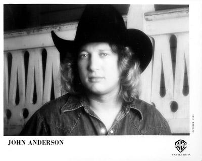 John Anderson Promo Print