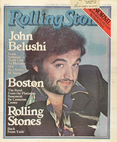 John BelushiRolling Stone Magazine