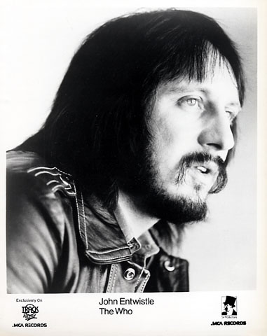 John EntwistlePromo Print