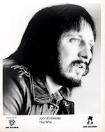 John Entwistle Promo Print