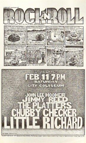 John Lee Hooker Handbill