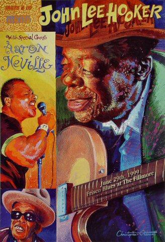 John Lee Hooker Poster