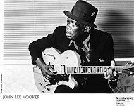John Lee Hooker Promo Print