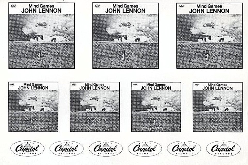 John Lennon Handbill