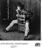 John Michael Montgomery Promo Print