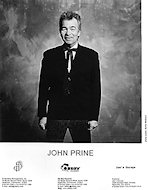 John Prine Promo Print