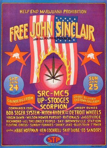 John Sinclair Poster
