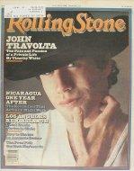 John Travolta Rolling Stone Magazine