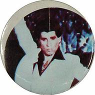 John Travolta Vintage Pin