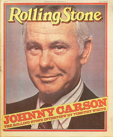 Johnny CarsonRolling Stone Magazine