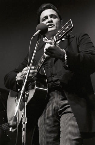 Johnny Cash Vintage Print