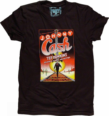 Johnny Cash Women's Retro T-Shirt