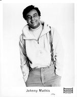 Johnny Mathis Promo Print