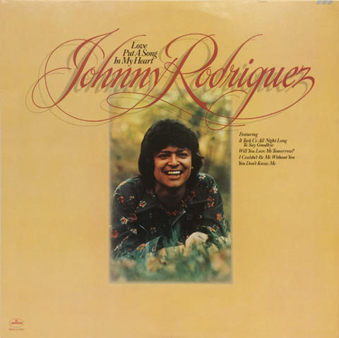 "Johnny Rodriguez Vinyl 12"" (Used)"
