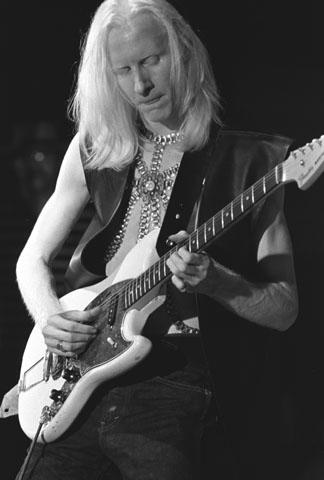 Johnny Winter Fine Art Print