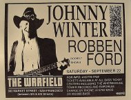 Johnny Winter Handbill