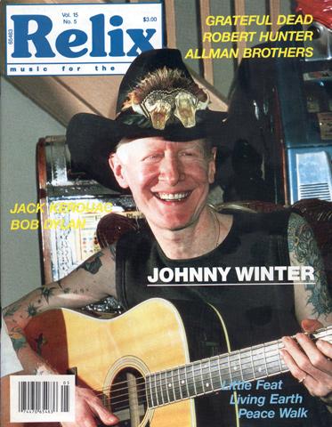 Johnny WinterMagazine