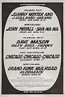 Grand Funk Railroad Poster