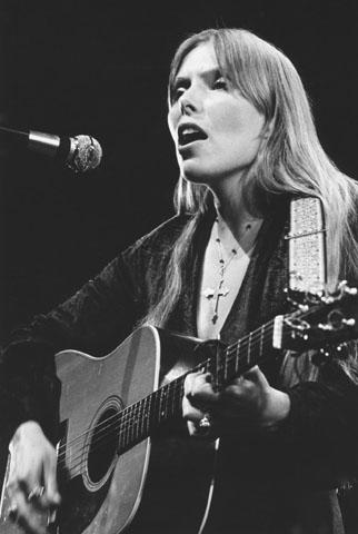 Joni Mitchell Fine Art Print