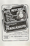 Joni Mitchell Handbill