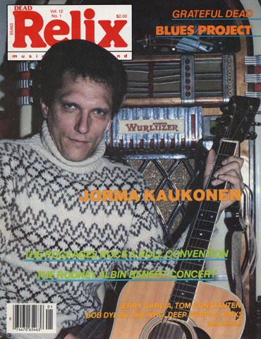 Jorma KaukonenMagazine