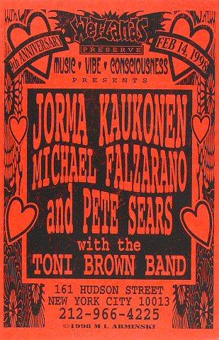 Jorma Kaukonen Poster