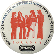 Journey Vintage Pin
