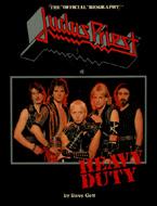 Judas Priest Heavy Duty Book