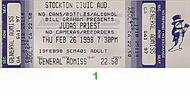 Judas Priest 1990s Ticket
