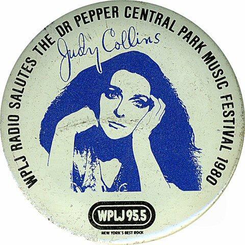 Judy Collins Vintage Pin
