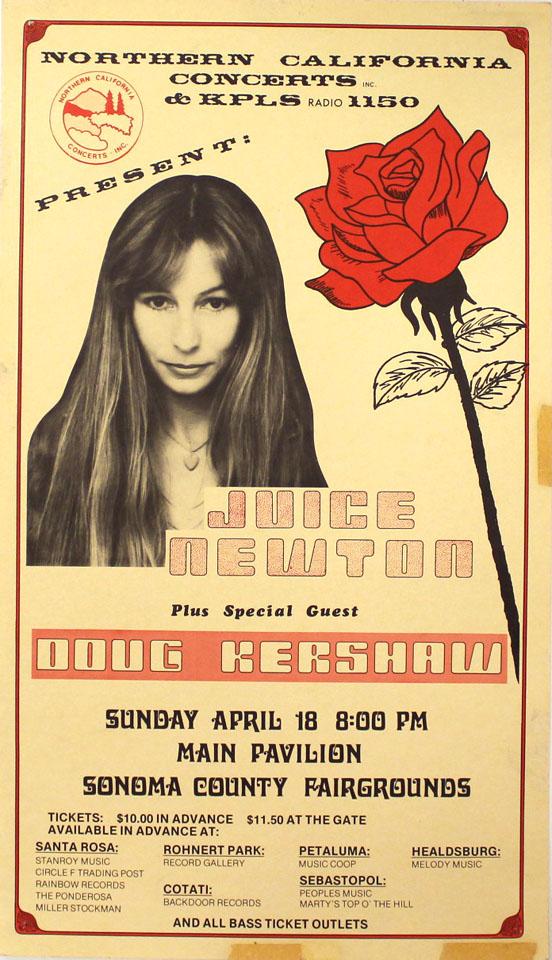 Juice Newton Poster