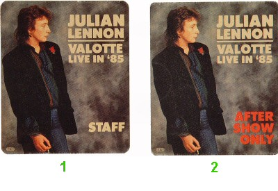 Julian LennonBackstage Pass