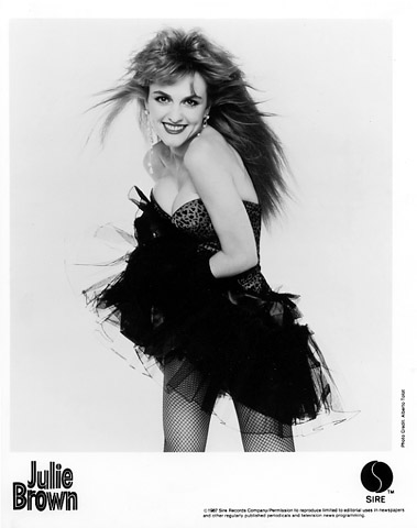 Julie Brown Promo Print