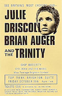 Julie Driscoll Handbill