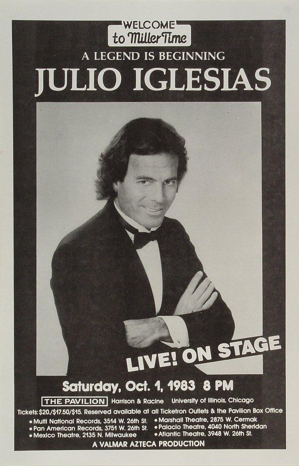 Julio IglesiasPoster