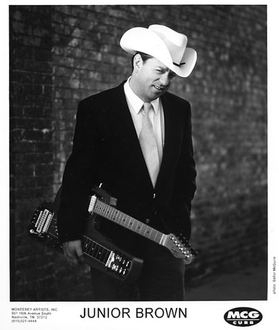 Junior Brown Promo Print