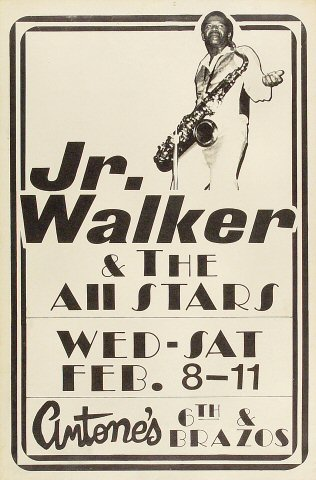 Junior Walker & the All-Stars Poster