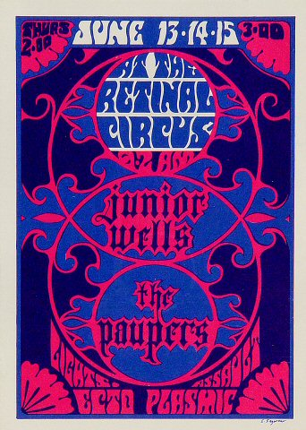 Junior WellsPostcard