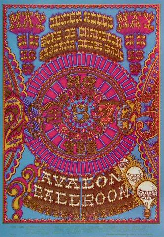 Santana Blues Band Poster