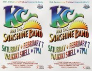K.C. and the Sunshine Band Proof