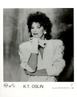 K.T. Oslin Promo Print