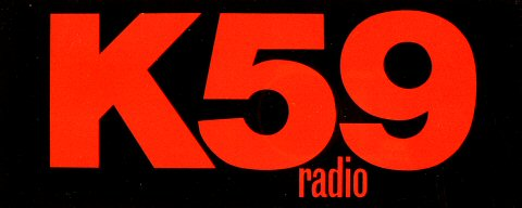K59 Radio Sticker