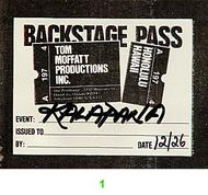 Kalapana Backstage Pass