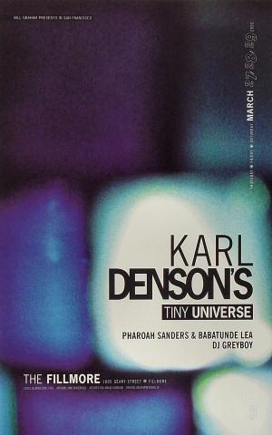 Karl Denson's Tiny Universe Poster