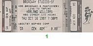Kathleen Madigan 1990s Ticket