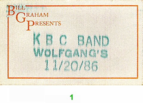 KBC BandBackstage Pass